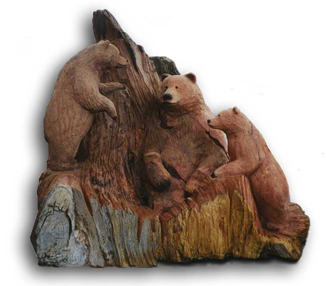 Bear wood carving pdf woodworking