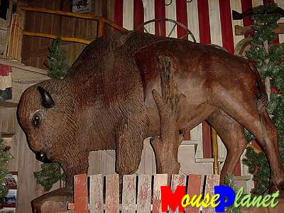 Buffalo Sculpture Life Size