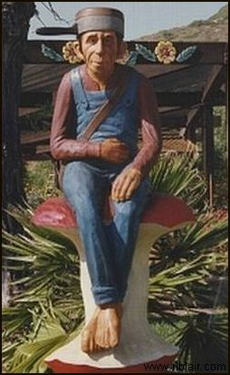 Johnny Appleseed Sculpture