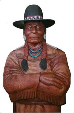 Wooden Indian - Life Size