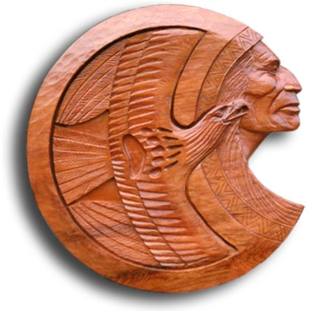 Wooden Wall  on Wall Sculpture   Art Deco Sculpture  Wood Carving