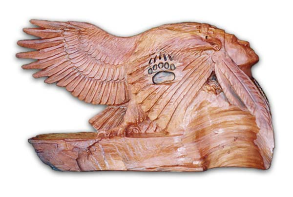 Indian Eagle Sculpture